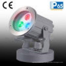Luz do ponto do jardim do diodo emissor de luz de 3W RGB