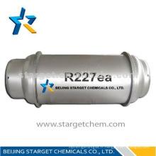 Fluide réfrigérant HFC227ea utilisé pour l'extinction d'incendie