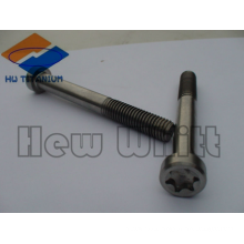 high strength titanium M6 torx head