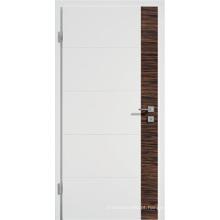 Alta qualidade e melhor preço porta de madeira decorativa janela de plástico inserções
