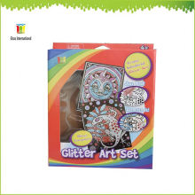 art and craft,wholesale glitter sets kits,paint gift painting