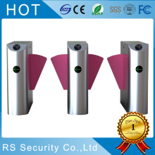 Security Turnstile Gate Systems Flap Barrier Gate