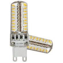 Silica Gel 3014 72SMD G9 230V White Dimmable LED Light