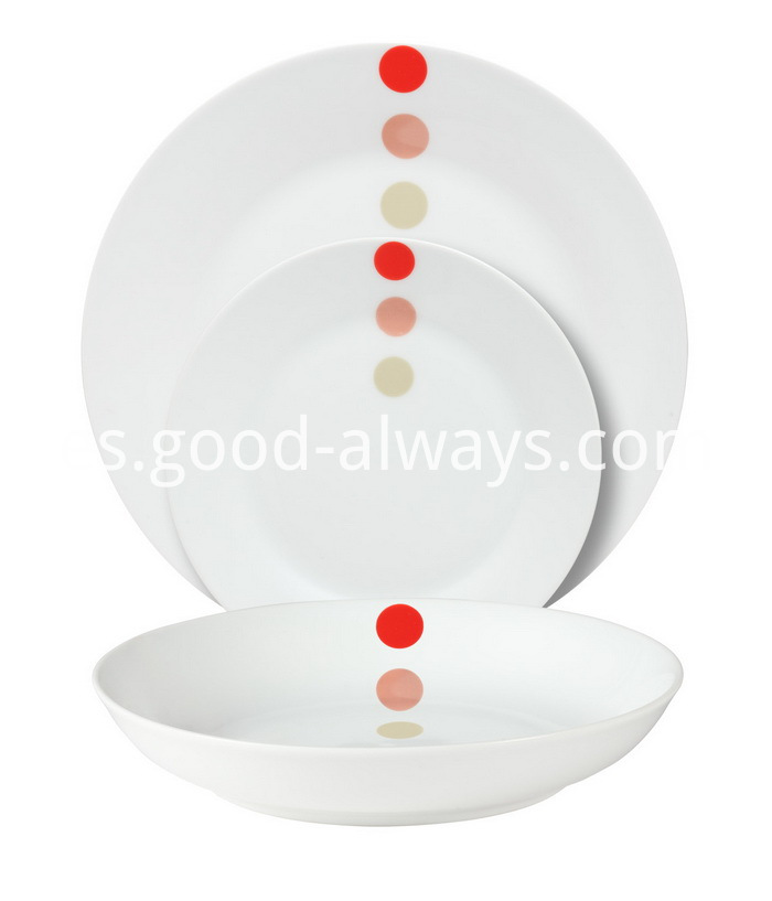 Coupe Porcelain Dinner Set