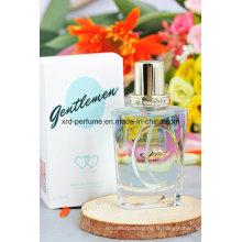Parfum bleu Gentleman de parfum de couleur de conception de mode adaptée aux besoins du client