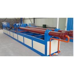 Carbon steel elbow hot making machine
