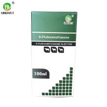 Injection de phosphate de sodium de dexaméthasone à 0,2%