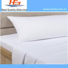 Army Use Single Size of White Bed Sheet Flat Sheet