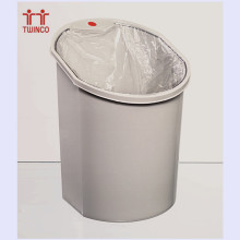 Manufacturer Price Plastic Waste Bin Dust Bin for Office & School