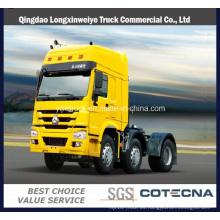 Carro del tractor de la rueda 420HP de Sinotruk HOWO 10 para el mercado de África