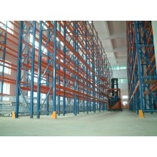 Pallet Racking Double Row voor Industrial Warehouse