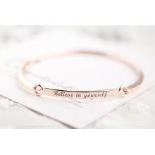 Fesyen Stainless Steel Bangle Inspire Bangle Womens Bangle
