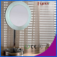 Miroir de table de maquillage à LED simple côté Fyeer