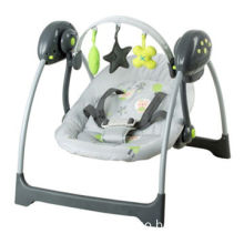 Automatic swing with lively music, offering top relax for baby