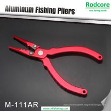 Pinces à pêche en aluminium à appât de pêche