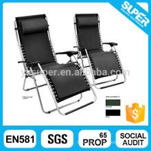 Роскошный шезлонг Наружный кресло с подушкой