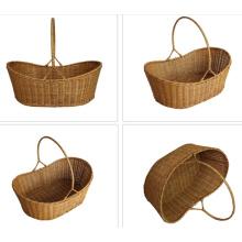 (BC-R1002) Pure Manual Craft Rattan Basket