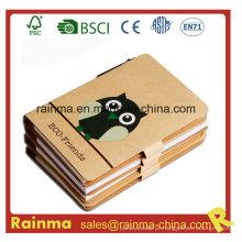 Caderno de papel de alta qualidade Eco para papelaria