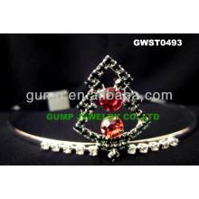 Christmas day small tiara crown