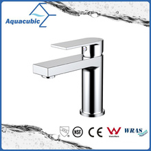 Single Hole Newly Design Bathroom Basin Brass Mixer Faucet