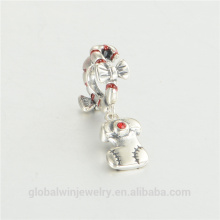 European Wholesale Charms With Zircon Fashion Jewellery Beads And Charms Wholesale