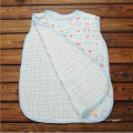 Super soft baby swaddle muslin baby sleeping bag