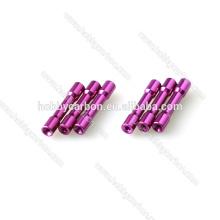Precio del fabricante para M3 * 5.0mm Color Hex Head Step Spacer / separador de aluminio