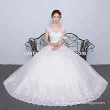 New Arrivals 2016 Ball Gown Designers Sweetheart Lace Appliqued Tulle Cheap Wedding Dress