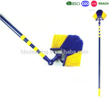 factory price 360 degree swivel ceiling broom, corner broom