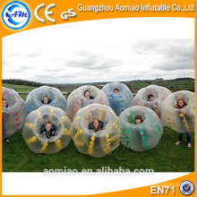 Grande venda tpu bolha de bolas bola de bolha para le futebol / bolha futebol bola