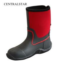 New Fashion Damen / Herren Rubber Short Boots