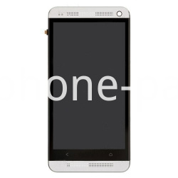 HTC One M7 screen with frame white