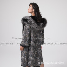 Omkeerbare Lady Mink Fur Coat