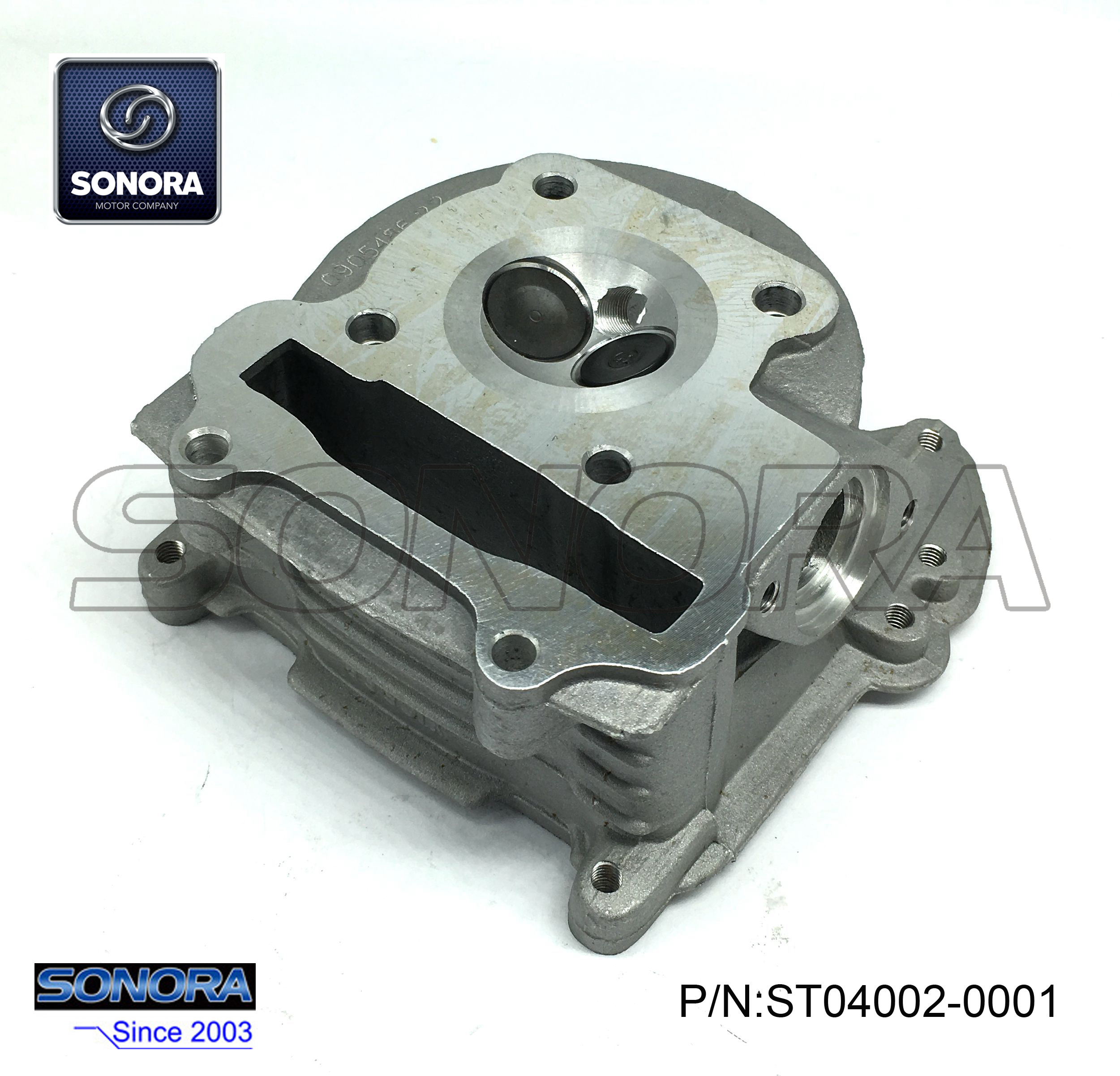 ST04002-0001 GY50 139QMAB Cylinder head with valve 47MM,with EGR