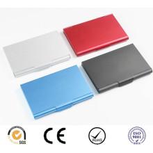 Цветной алюминиевый держатель для визитных карточек, алюминиевый картон