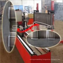 2015 SHUIPO new product Corrugated Plate Automatic Welding Machine semi trailer side wall semi-auto welding machine