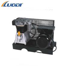Bomba y motor de compresor de aire accionado por correa 3hp