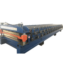 Corrugated Roof Sheet Double Layer Roll Forming Machinery