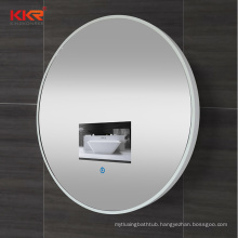 Modern design stone frame bathroom smart dressing led mirror