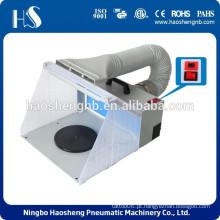 HS-E420DCLK hobby ar extractor / cabine de pulverização