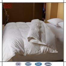 Microfiber Filling Econômico 3 Star Hotel Edredões Usados White Bed Consolador Set