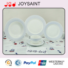 Wholesale Porcelain Decal Dinner Set Promotion for Hotel