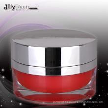Jy220-02 50g Oval PMMA frasco cosmético