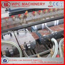 Деревянный пластик wpc настил / забор / изготовление стеновых панелей машина wpc