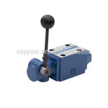 WMM rexroth tipo válvula manual de controle direcional