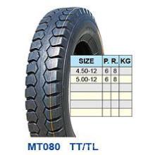 Neumático de la motocicleta 4.50-12 5.00-12