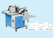 ZX-600 Paper board creasing and angle cutting machine