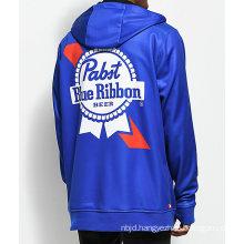 Bonded Tech Fleece Blue Cool Zip Hoodie