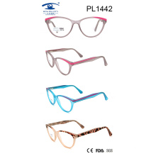 2017 New Cat Eye Cp Optical Frame (PL1442)