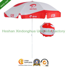 8ft Sun Outdoor Parasol Beach Umbrella for Promotional Display (BU-0054W)